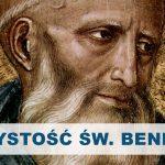 Święty Benedykt z Nursji - patron Europy